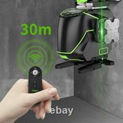 16 Line Green Laser Level Self-Leveling Cross Line Bluetooth 360° Rotary Measure