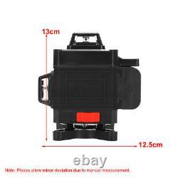 16 Lines 4D 360° Rotary Laser Level Cross Green Self Leveling Measure With Tripod
