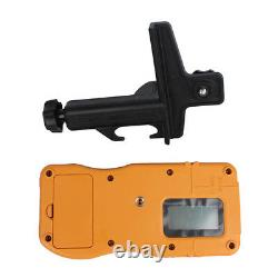 360° Electronic Self-Leveling Rotary Rotating Red Laser Level withTripod Staff