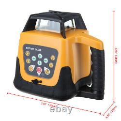 360° Self Levelling ±5° Automatic Rotating Red Laser Level Rotary Laser 500M