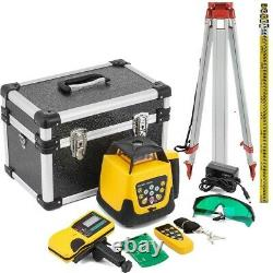 360 degree 500m Self-leveling Rotary Laser Level+1.65M Tripod+5M Measuring stick