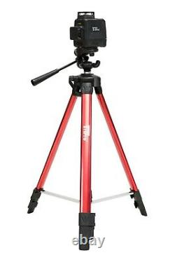 3D 2X 360° Self Auto Leveling Rotary Green Laser Level Tripod Receiver Detector