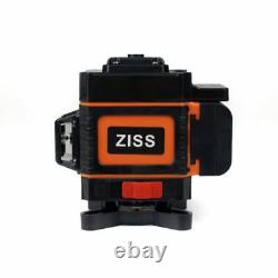 3D 360° 12 Lines Green Laser Level Auto Self Leveling Rotary Cross Measure Tool
