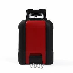 3D 360° Self Auto Leveling Rotary Cross Laser Level Tripod Receiver Detector