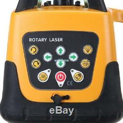 500M Green Beam Automatic Laser Level Rotary Rotating 360 Self-Leveling Tool