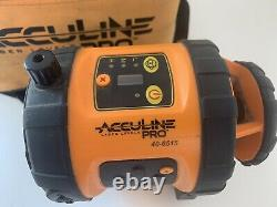 Acculine Pro 40-6515 Self-Leveling Rotary Laser Level