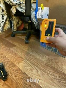 Acculine pro self leveling rotary laser level