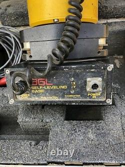 Agl 1182s Electronic Rotary Laser Level With Self Leveling Base & Cords, Case