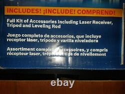 BOSCH 1300-ft Self-Leveling Rotary 360 Laser Level GRL400HCK