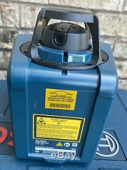 BOSCH GRL250HV Self Leveling Rotary Laser Tool With Accessories And Case Clean