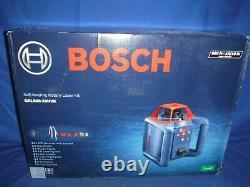 BOSCH GRL800-20HVK SELF LEVELING ROTARY LASER KIT 800ft. +-3/16 NEW