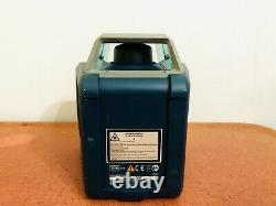 BoschGRL400H self leveling rotary laser with case and spectra receiver hr320