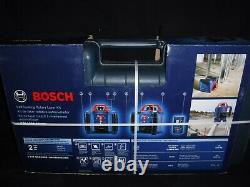 Bosch 1000-ft Red Beam Self-Leveling Rotary 360 Laser Level Kit GRL1000-20HVK