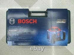 Bosch GRL1000-20HVK Automatic Self-Leveling Rotary Laser Kit, Horizl & Vert NEW