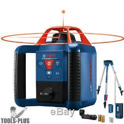 Bosch GRL1000-20HVK Self-Leveling Rotary Laser Kit 1000' (Recon)