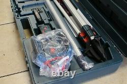 Bosch GRL1000-20HVK Self-Leveling Rotary Laser System