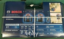 Bosch GRL1000-20HVK Self-Leveling Rotary Laser System NEW