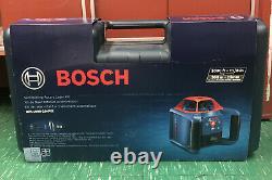 Bosch GRL1000-20HVK Self-Leveling Rotary Laser System, NIB