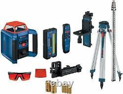 Bosch GRL2000-40HVK Self Leveling Rotary Laser Kit