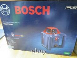 Bosch GRL800-20HVK 800 ft. Self Leveling Rotary Laser Level Kit (E10012841) NEW