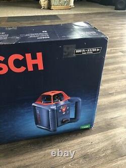 Bosch GRL800-20HVK-RT 800 ft. Self Leveling Rotary Laser Level Kit