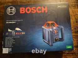 Bosch GRL800-20HVK-RT 800 ft. Self Leveling Rotary Laser Level Kit NEW