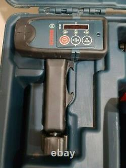 Bosch GRL800-20HVK-RT Self Leveling 800ft Rotary Laser Kit with Tripod & 8ft Rod