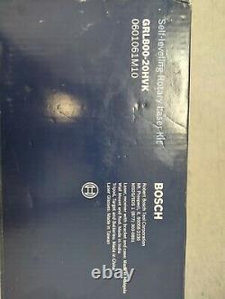 Bosch (GRL800-20HVK) Self Leveling 800ft Rotary Laser Kit Brand new