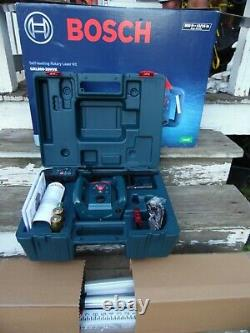 Bosch GRL800-20HVK Self Leveling Rotary Laser Kit With Tripod & Case New In Box