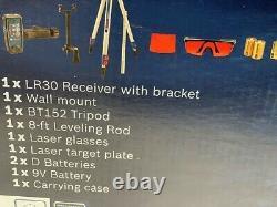 Bosch GRL800-20HVK Self Leveling Rotary Laser Level Kit with Bracket