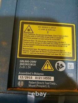 Bosch GRL800-20HV Self Leveling 800ft Rotary Laser