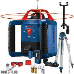Bosch GRL900-20HVK Self-Levelling Rotary Lase Kit REVOLVE900 New
