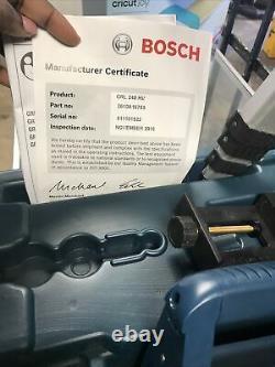Bosch GRL 240 HV 800ft Self Leveling Rotary Laser Wirh Tripod And Grade Rod