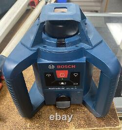 Bosch GRL 240 HV Self Leveling Rotary Laser Level Kit with LR 24 Remote