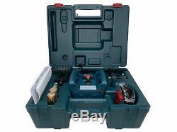 Bosch GRL 245 HVCK 800FT Self Leveling Rotary Laser Level 5 Piece Kit NEW