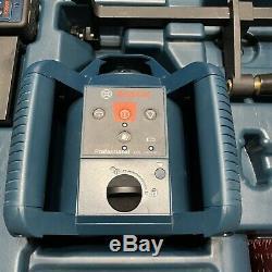 Bosch Pro Rotary 800ft Self Leveling Laser GRL 240 HV/LR 24 Remote/Hard Case