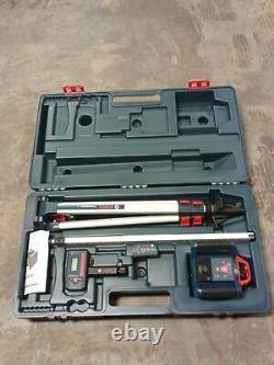 Bosch Professional Self-Leveling Rotary Laser System Kit GRL1000-20HV New