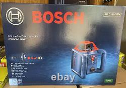 Brand New Bosch GRL800-20HVK Self-Leveling Rotary Laser Kit Level 800ft +- 3/16