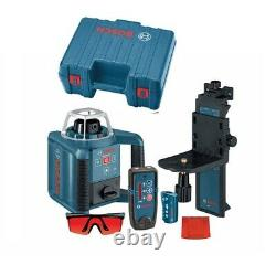 Brand New Bosch GRL 300 HVD Self-Leveling Rotary Laser with Receiver