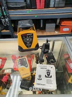 CST/BERGER LMH-C AUTOMATIC SELF LEVELING ROTARY LASER with TOPCON LS-80L RECEIVER