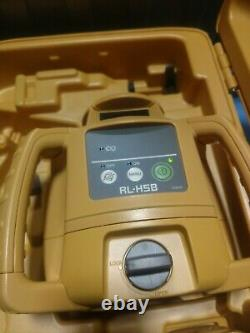 Clearance- Topcon 1021200-31 RL-H5B Self Leveling Horizontal Rotary Laser