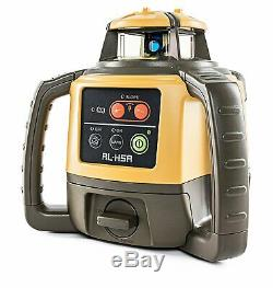 Clearance Topcon RL-H5A Horizontal Self-Leveling Rotary Laser LS-80L Receiver