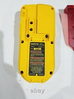 DEWALT 150 ft. Red Self-Leveling Rotary Laser Level with Detector DW074KD
