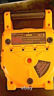DEWALT DW074 100ft Self Leveling Interior/Exterior Rotary Laser Kit