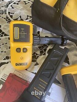 DEWALT DW074 100ft Self Leveling Interior/Exterior Rotary Laser Kit DW074KD