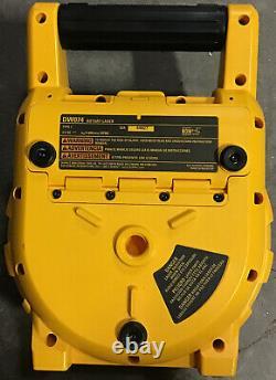 DEWALT DW074 150 ft. Red Self-Leveling Rotary Laser Level LASER ONLY