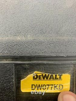 DEWALT DW077KD interior exterior Self Leveling Rotary Laser Combo Kit