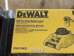 DeWALT Self Leveling Rotary Laser DW074KD Interior & Exterior NICE