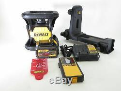 DeWalt DW074LR 20V MAX Li-Ion Red Self-Leveling Rotary Laser