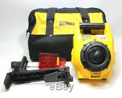 DeWalt DW074 Heavy-Duty Self-Leveling Interior/Exterior Rotary Laser Kit